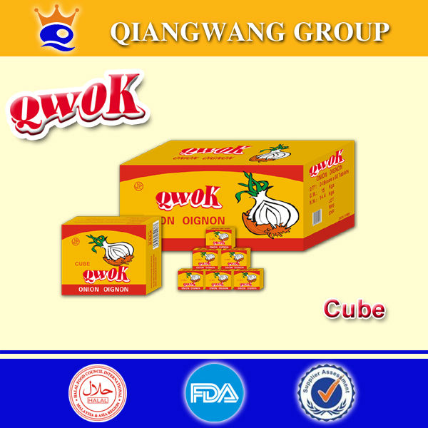 10g/cube HALAL CHICKEN/SHRIMP/BEEF SEASONING SOUP CUBE