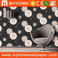 Different types of wall fashion PVC wallpaper for roof decoration