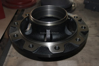cast iron wheel hub for heavy trucks