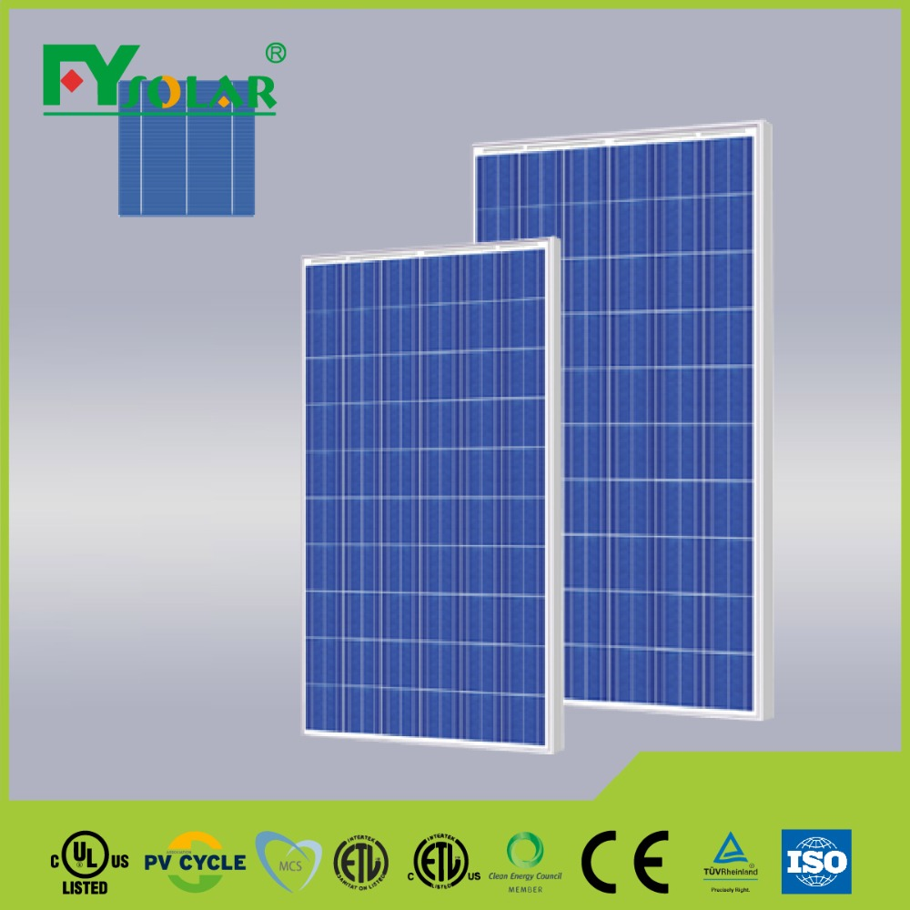 FYsolar high quality A grade 315w poly export best price power pv solar panel