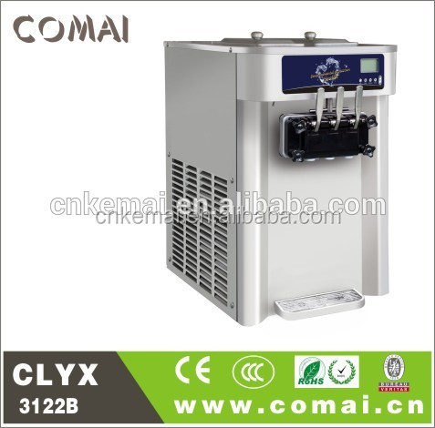High Quality table top soft serve ice cream machines