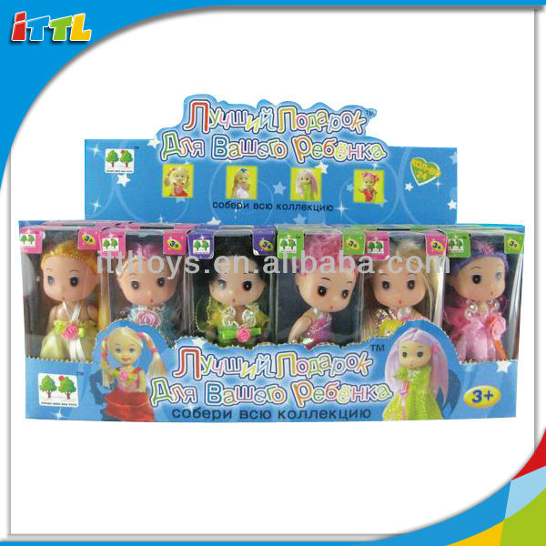 A163855 Fashion Doll Series Plastic Small Baby Dolls