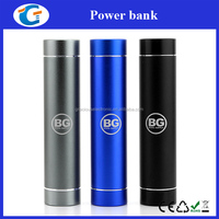 Smartphone mobile charger cylinder steel style power bank