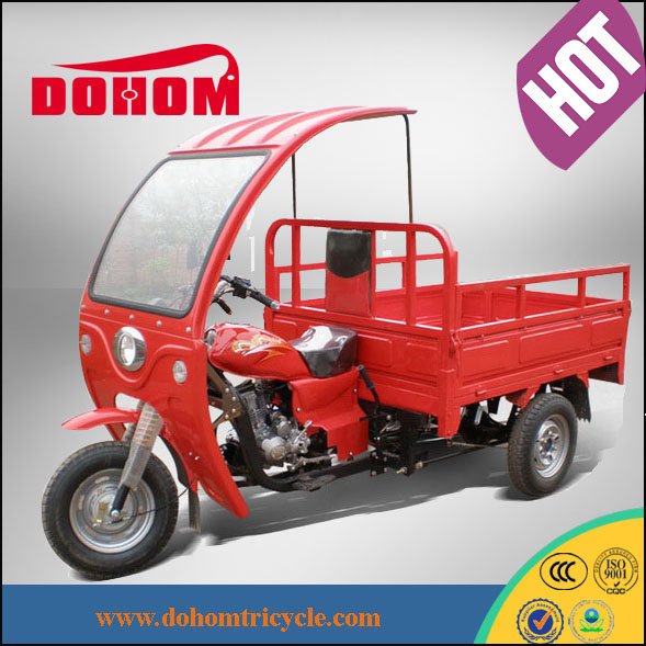 Made in china Semi cabin tricycle,three wheel motorcycle,motorbikes
