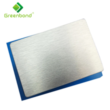 Greenbond PVDF coated external sheet aluminium composite wall cladding