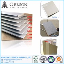 Hot Selling Best Value Mixed Pulp 2mm Grey Chipboard / Gray Cardboard In Specialty Paper