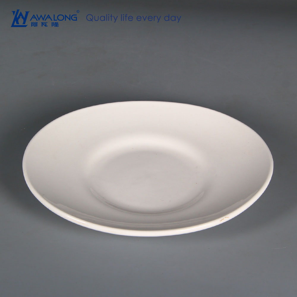 Cheap Dinner Plates Serving Dishes / Porcelain squareSoup Plate / White Ceramic Soup Plate for Hotel / Restaurant