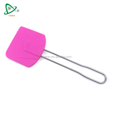 High quality silicone solid cookie baking & pastry spatula