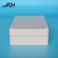 JHASB166 ABS/PC Plastic Battery Enclosure IP65,Electronic Outdoor Project Enclosure Junction Box