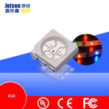 6000-6500K 0.2W colorful RGB SMD 5050 led diodes led smd