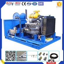 Popular Industrial Application 55MPA Tank/vessel cleaning Ultra High Pressure Water Pumping Machine