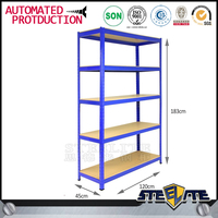 Adjustable wholesale display sheet metal storage rack/ home storage metal shelves