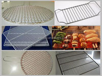 BBQ grill wire mesh stainless steel barbecue bbq grill wire mesh net made in China