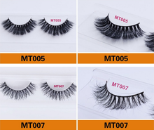 Hand Made 100% 3d Real Horse Fur Lashes Premium Eyelashes