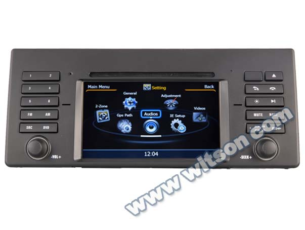 Witson car audio player for BMW 5 series E39
