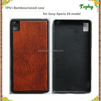 China Factory Custom TPU Wood Case