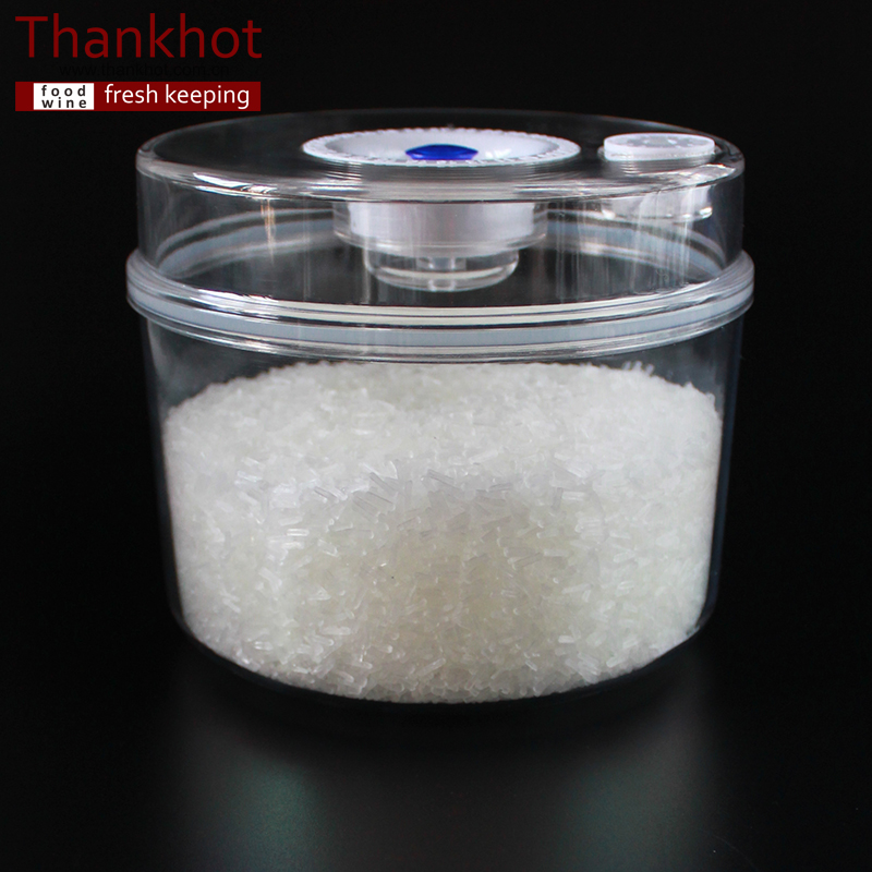 Vacuum glass jar Plastic spice jar