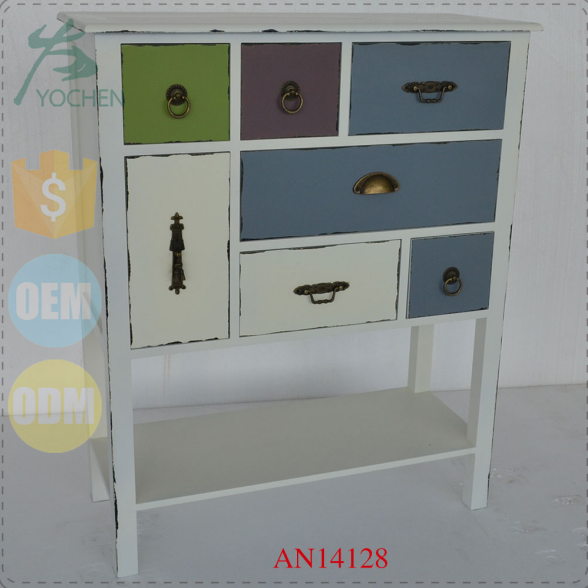 small wood drawer cabinet storage wood furniture home decor