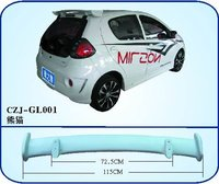 ABS rear spoiler for GEELY PANDA