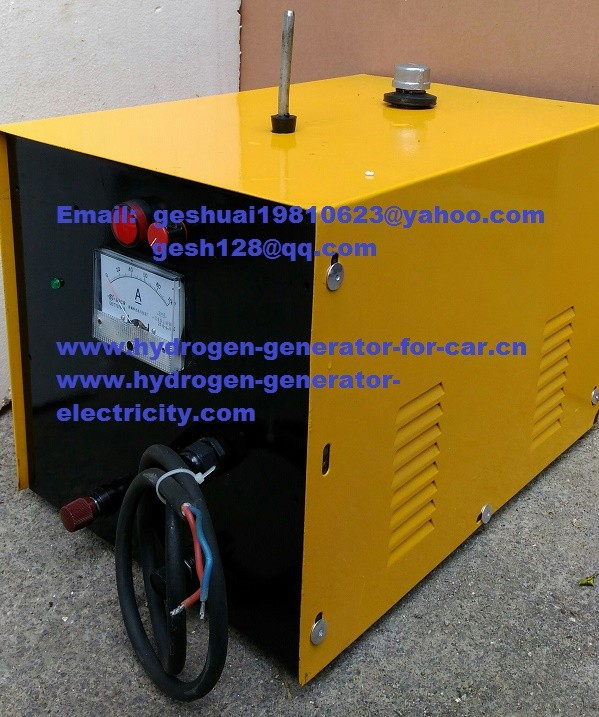 60-3000L/H Stainless steel shell HHO hydrogen fuel cell saver & carbon cleaning machine
