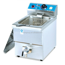 electric fryer/fish and chips fryers/electric deep fryer DF-12L