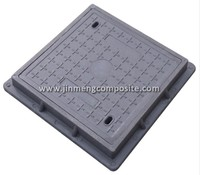 rectangular plastic inspection chamber Manhole top for wholesales