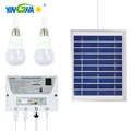 Energy-saving system solar kit for home lighting and phone charging