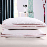 Cotton and Sateen Pillow Cover with Gusset