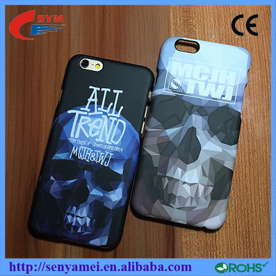 2016 Famous Brand Skull Glowing Case For iPhone6 6Plus Phone