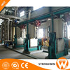 10-2000TPD sunflower oil processing equipment with oil refinery machine