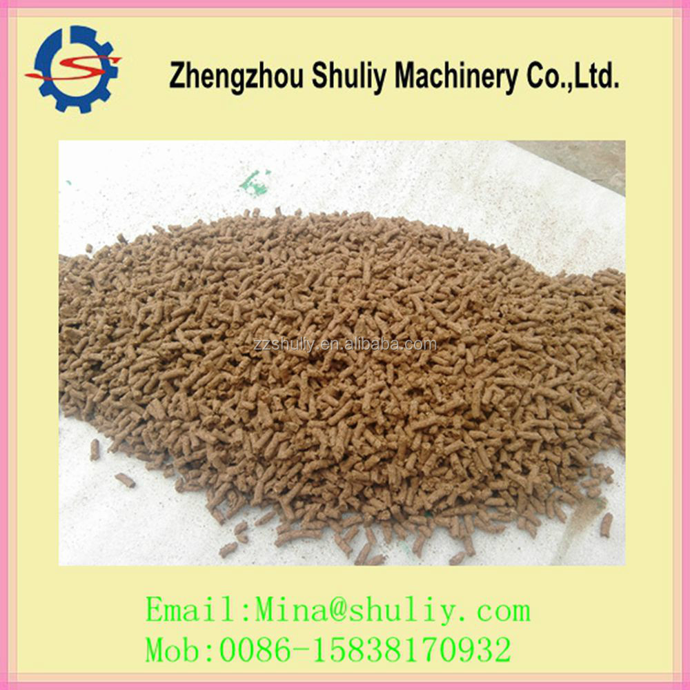 Box and vertical type catfish feed pellet machine