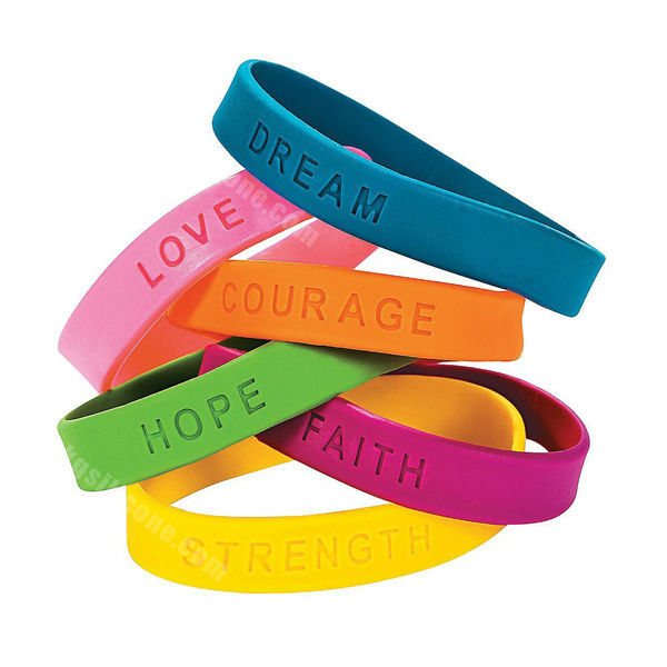 Silicone Rubber Wristband   Bracelet - Buy Silicone Rubber Wristband