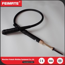 FEIMATE Hot Selling Black 36KD 1.5M Straight Handle CO2 Mig Welding Torch