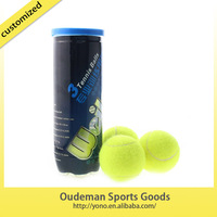 2015 High quality wholesale cheap yellow tennis balls