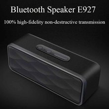 Renowned Portable Shockproof Outdoor Bluetooth Speaker E927 Portable amplified speaker