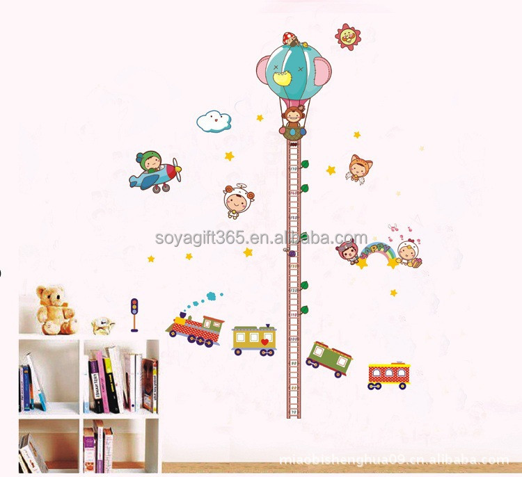 Children Height Chart removable Measurement Growth Chart
