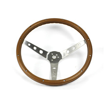 Universal Drift Wooden Steering Wheel, Sport Classic Wooden Steering Wheel, Racing Car Wood Steering Wheel