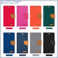China Supplier Wallet Design Cover Flip pu Leather Case Cover Mobile Phone jeans Case For Samsung Galaxy J5/j3/j7