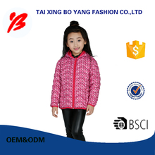 Customized professional winter garment oem and odm for kids