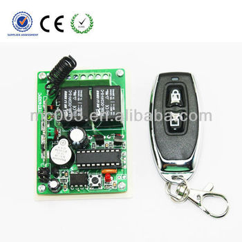 MC402-JY Motor over-current protection wireless remote control 2ch 433mhz