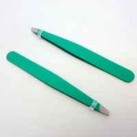 13g stainless steel professional eyebrow tweezers