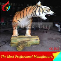 Life Size Mechanical Animatronic Tiger Model