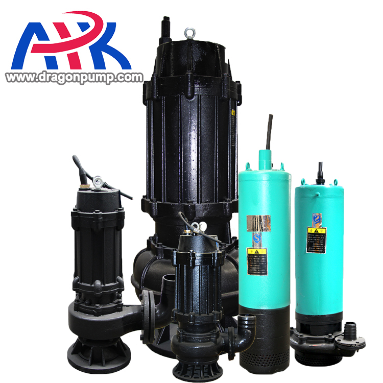 Electric end suction raw water pump driven sewage dredge sludge slurry