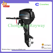 Long/Short Shaft Recoil/Electric Start 40Hp Gasoline Electric Outboard Engine