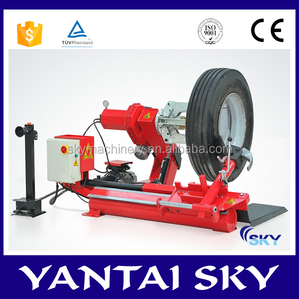 New product made in China tyre fitting machine heavy duty truck tire changer truck wheel removal tool