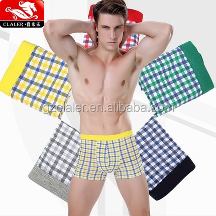 Sexy men underwear boxers modal men's boxer wholesale boys underwear