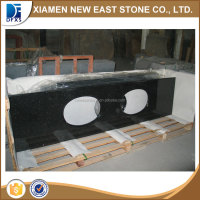 High quality kitchen counter top zimbabwe black granite countertop