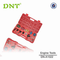19PCS Car Petrol Engine Twin Timing Cam Locking Setting & Flywheel Holding Tool Kit