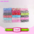 2015 wholesale fashion European hot sale children Bronzing rabbit ear knot 8pcs Kids Baby Girl Headscarf Headbands