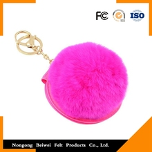 Portable folding Mirror Key Chain with good quality